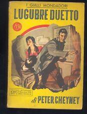 Peter Cheyney,Lugubre duetto,I Gialli Mondadori n. 204, 1952