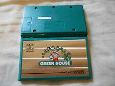 CONSOLA NINTENDO GAME & WATCH GREEN HOUSE MULTISCREEN MAQUINITA MOD. GH-54