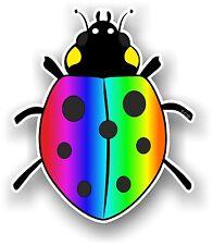 Belle mignon coccinelle ladybug Design Multi Couleur Vinyle Autocollant Voiture Décalque