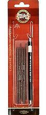 Set Druckbleistift 2 mm KOH-I-NOOR 5900 mit Minen Fallbleistift Fallminen Stift