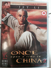 Jet Li ONCE UPON A TIME IN CHINA II / 2 HKL Hong Kong Legends | UK DVD Tsui Hark