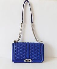 NWT REBECCA MINKOFF Love Shoulder/Crossbody/Clutch Bag ~ Cobalt