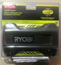NEW Ryobi OP40201 2ah 40V Lithium-ion Battery Free Shipping NEW SEALED