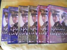 DVD-SERIE TV-IL PECCATO E LA VERGOGNA-6 DVD-PRIMA STAGIONE-SERIE 1-6 PARTI-2010