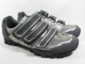 Cannondale MTB Cycling Mountain Biking Shoe Men size 10.5 Silver