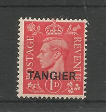 TANGIER 1944 GEORGE 6TH 1d PALE SCARLET SG,252 M/MINT LOT 6572A