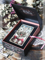 Sola Busca Tarot Cards by Paola Gnaccolini + Book Museum Quality Lo Scarabeo