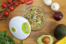 Manual Vegetable Food Chopper Handheld Ginger Slicer Pepper Cutter Clean Eating
