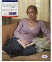ELIZABETH MITCHELL - LOST - THE PURGE - V - SIGNED WITH PSA DNA COA A048