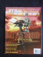 Star Wars Insider Magazine 40 Episode I Battle Droids music & video game history