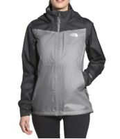 Women's The North Face Crescent Hooded Pullover, Gray and Slate, Large, MSRP $99