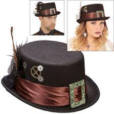 STEAMPUNK ZYLINDER # Viktorianischer Hut Retrolook Karneval Kostüm Party 60812