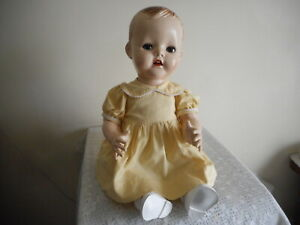 PEDIGREE RARE 20 INCH  MOLDED HEAD (BENT LEG BABY)  FREE POSTAGE