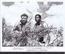 Burt Lancaster Ossie Davis The Scalphunters 1968 vintage movie photo 33015