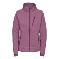 Trespass Causeway Womens Full Zip Fleece Jacket Lightweight Hooded Coat