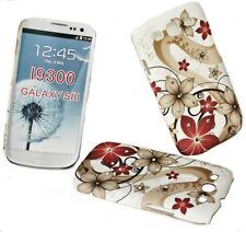 Diseño pedrería 1 hard back celular cover case funda para Samsung i9300 Galaxy s3