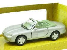 Cararama Hongwell Diecast Jaguar XK8 Convertible Silver 1 43 Scale Boxed