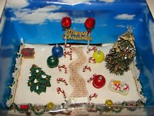 Lemax Candy Cane Lane - NEVER taken from Box -Lighted Village  ! Reduced Price !