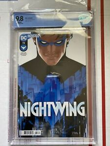 Nightwing #78 ❤️🔥❤️ CBCS 9.8 1st print 1st Melinda Zucco, 1st Bitewing!