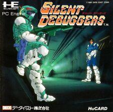 PC Engine / TurboGrafX 16 Spiel - Silent Debuggers JAP HuCard