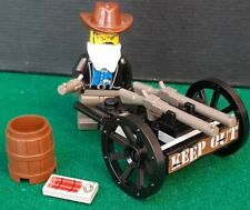 LEGO Western Cowboys set 6791 Bandit's Wheelgun 1997