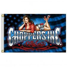 Official Choppers Inc Pin Up Girl Relax Flag 3 X 5 FLAG