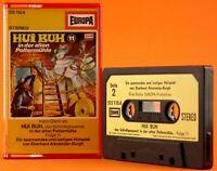 Hui Buh 11 in der alten Poltermühle Kassette MC alte Musik schwarz gelb