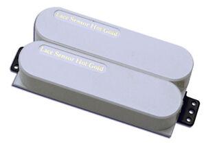 Lace Sensor Hot Gold Dually Neck pickup - white