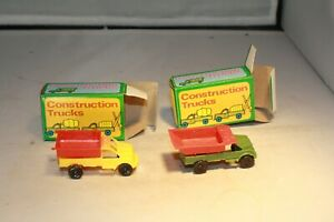 1960s Dump Truck Set Made in Hong Kong Mint in Box