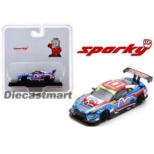 Sparky Model 1:64 Nissan GT-R Nismo GT3 KCMG 10th FIA World Cup Macau #18 Y129B