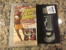 A GRAND SLAM SUMMER RARE VHS! NOT ON DVD 1997 MENS BEACH VOLLEYBALL TOURNAMENT
