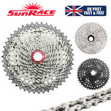SUNRACE 8/9/10/11s 11-40/42/46T MTB Bicycle Cassette KMC Chain fit Shimano SRAM