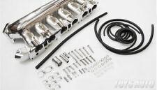 Rev9 Cast Aluminum Intake Manifold for RB25det RB25 Skyline R32 R33 R34 chrome