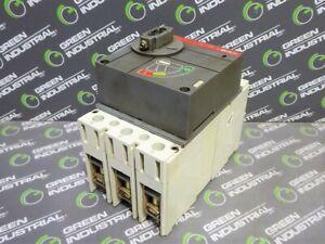 USED ABB S3H-D SACE S3 Circuit Breaker 100 Amps 600VAC 600VDC 3 Pole