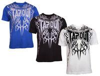 TAPOUT T-Shirt Print Freizeitshirt Hemd Herren h2