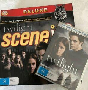 Twilight Scene it? The DVD Game with bonus sealed 2 disc Twilight DVD