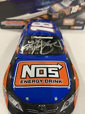 2009  #18 Kyle Busch  NOS Energy Nationwide Series AUTOGRAPHED