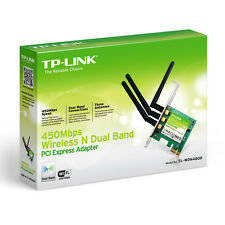 TP-LINK ANTENNA TRIPLA Wireless N PCI EXPRESS WIFI CARD 450Mbps 802.11 B, G & N