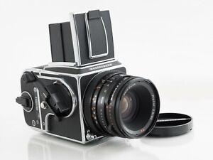 Hasselblad 500 CM 80mm CF A12 magazine Bright Matte screen #2014