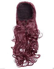 Drawstring Adult Wavy Hair Extensions