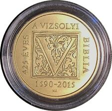 Hungary 2000 forint  Bible of Vizsoly  2015  Commemorative Coin BU