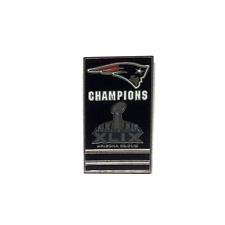 New England Patriots Super Bowl 49 XLIX Champs Banner Pin