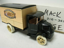 Ertl1:38 Replica Mack Bulldog, 1926 Delivery, Bank, J.J. Case, Vg Cond, W/ Box