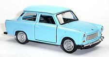 Trabant 601 hellblau Trabi Modellauto 1:34 ca. 12cm Neuware von WELLY