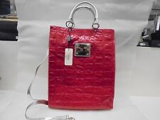 BORSA pelle IL NUOVO BAROCCO rossa - BAG LEATHER HIGH QUALITY 100% MADE ITALY