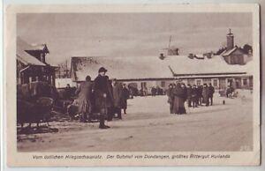 Gutshof  Dondangen Rittergut  Kurland  Lettland Latvija  1917