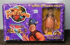 FRED FLINTSTONE BOWL-O-RAMA Bowling Toy Movie 11663 Action Figure 1994 NEW