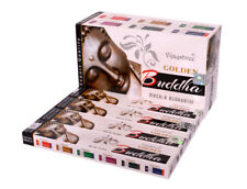 12 Pack Sticks Box Nag Buddha Golden Vijayshree Quality Incense Stick Fragrance
