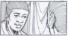 Usher Rhythm of the City Music Video original Storyboard Dan Fraga 2004 10