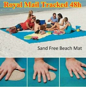 Extra Large Anti Sand Beach Mat Rug Picnic Blanket Outdoor Camping Travel Garden